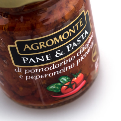 Pane & Pasta Sundried Cherry Tomatoes & Chilli (106gr)