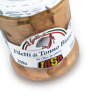 Albacore Tuna Fillets in Extra-Virgin Olive Oil (200gr)