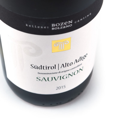 Sauvignon Alto Adige DOC 2015 - Bozen (750ml)-white wine-fruity wine-sauvignon wine