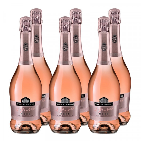"CASE of Sparkling Rosé ""Il Fresco"" - Villa Sandi (750ml)"