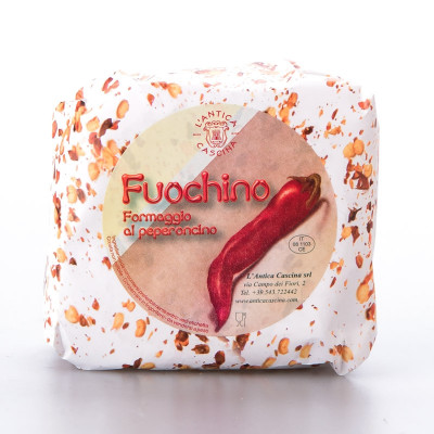 """Fuochino"" Semi-Aged Cheese with Chilli (500g)"