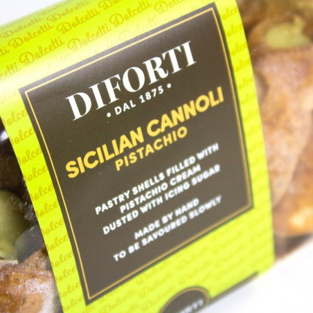 Sicilian Cannoli With Pistachio (150gr)