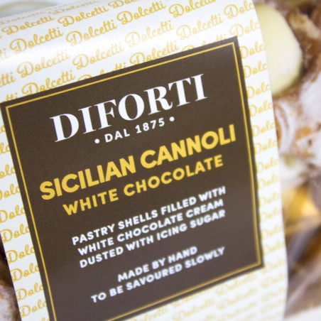 Sicilian Cannoli White Chocolate (150gr)