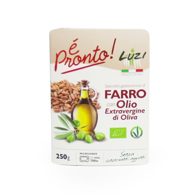 Organic Ready Meal - Farro with Extra Virgin Olive Oil (250gr)