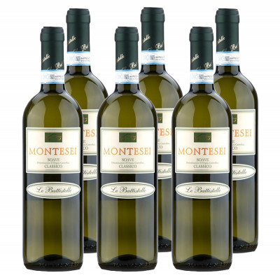 "CASE of Soave DOC Classico ""Montesei"" 2014 - Battistelle (750ml)"