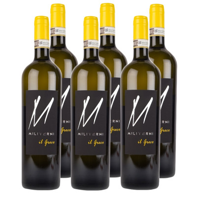 CASE of Greco di Tufo DOCG 2015 - Militerni (750ml)