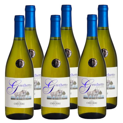 CASE of Grechetto IGT Umbria 2015 (750ml) - Chiorri