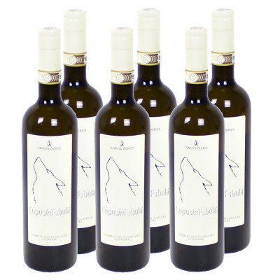 "CASE of Vermentino di Gallura Superiore DOCG ""Lupus In Fabula"" 2015 (750ml)"