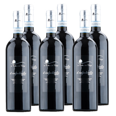 CASE of Valpolicella Superiore DOC - La Collina dei Ciliegi (750ml)