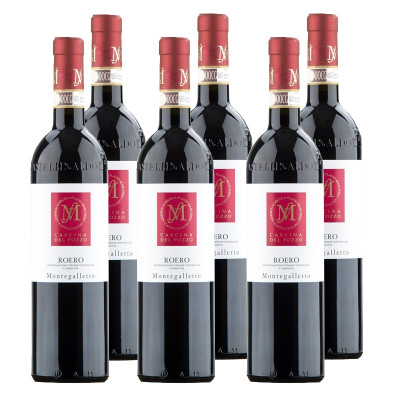 "CASE of Roero DOCG ""Montegalletto"" 2012 - Cascina del Pozzo (750ml)"