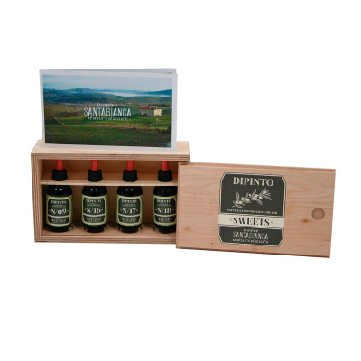 Box with 4 aromatic oils for Dessert (200gr)