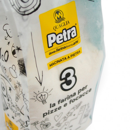 Flour Petra 3 for Pizza and Focaccia (1Kg)