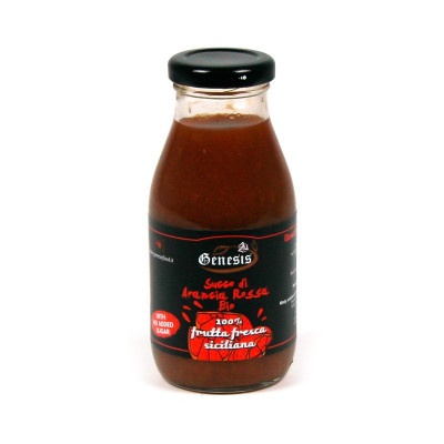 Organic Sicilian Red Orange Juice (250ml)