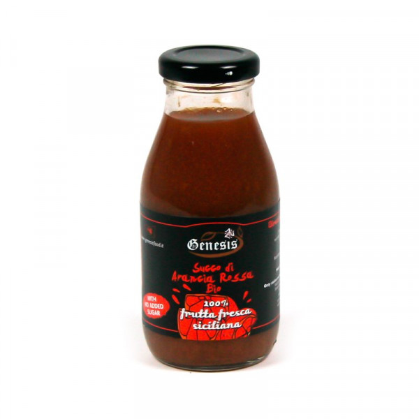 Organic Sicilian Red Orange Juice (25cl)