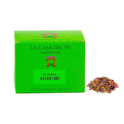 Sicilian Green Tea Leaves with Citrus (50gr)