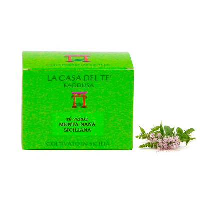 Sicilian Green Tea with Wild Mint (50gr)