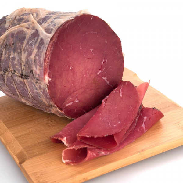 Bresaola from Chianina cow sliced (80g)