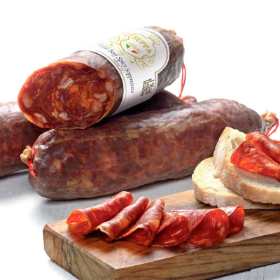 Halal Beef Spicy Soppressata with Truffle aroma (350gr)