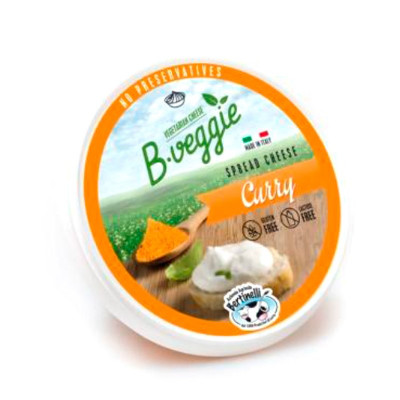 Lactose-free Spread Cheese with Curry (125gr)
