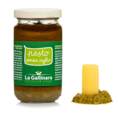 Pesto alla Genovese – Without Garlic (180gr)