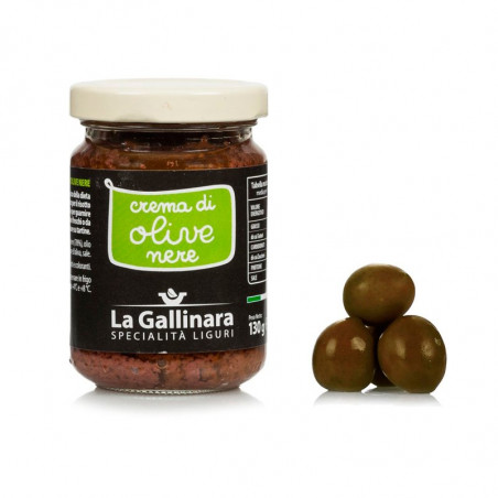 Black Olive spread (130g) - La Gallinara