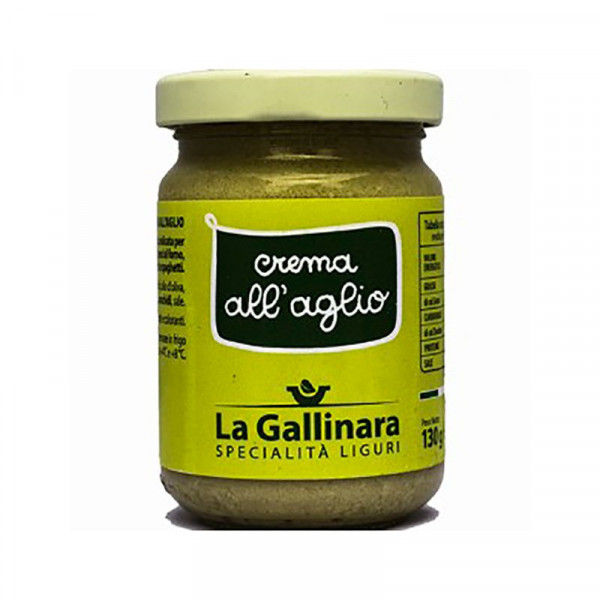 Garlic Cream (130g) - La Gallinara