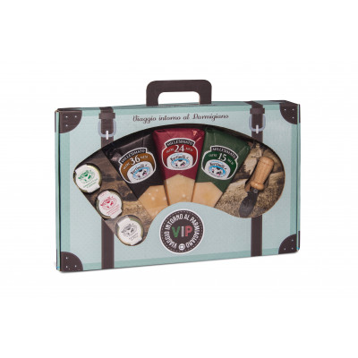 Cheese Selection Pack: 3 flavours of Parmigiano Reggiano DOP and Jams
