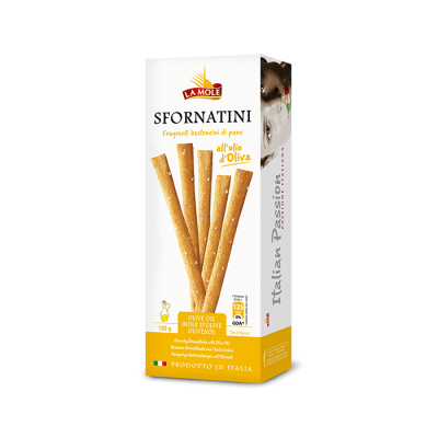 Sfornatini Breadsticks with Olive Oil (120gr)