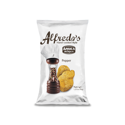Alfredo's Chips Pepe (35gr) - Amica Chips