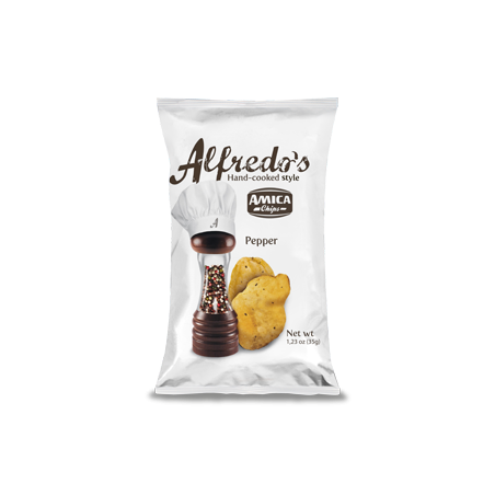 Alfredo's Chips Pepe (35g) - Amica Chips