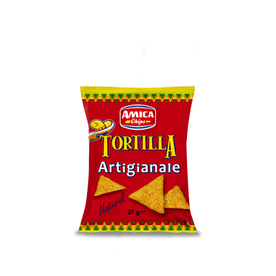 Tortilla Natural (35gr) - Amica Chips