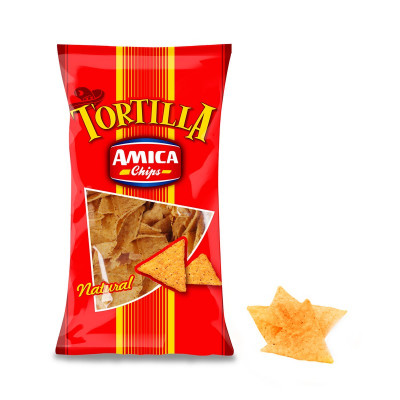 Tortilla Natural (450gr) - Amica Chips