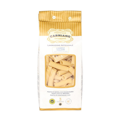 Candele Tagliate (500g) - Pastificio Carmiano-pasta-cook-ingredient-