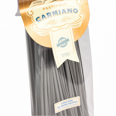 Squid Ink Linguine (500g) -...