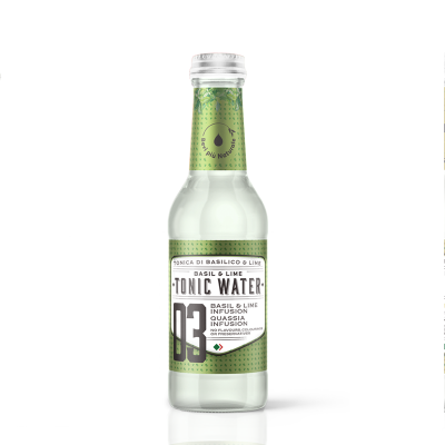 Lime & Basil Tonic (20cl) -...
