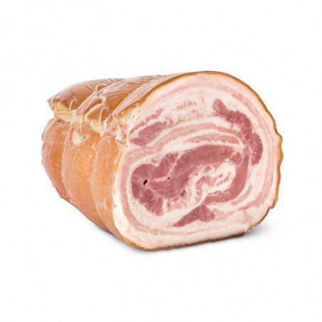Oven-baked Pancetta (80g) vacuum packed - Bedogni