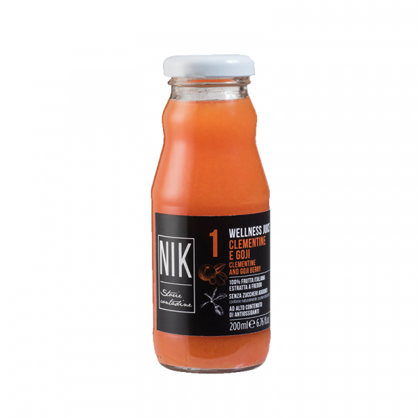 Clementine and Goji Berry Juice (20cl) - Favella