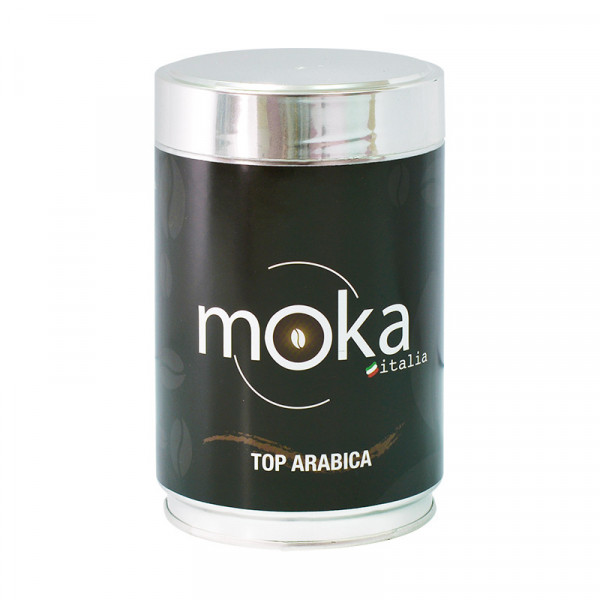 Ground Coffee Can Top Arabica (250g) - MokaItalia