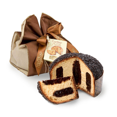 Panettone with Gianduja...
