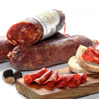 soppressata with truffle-halal beef-350g-suppa-halal meat