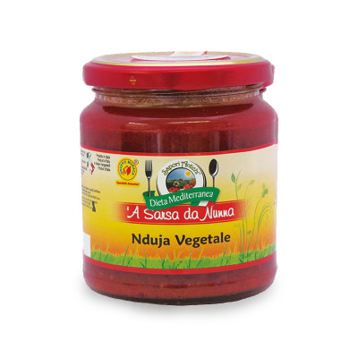 Vegetarian Spicy 'Nduja