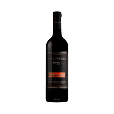 san lorenzo chianti-2018-melini-sangiovese grape wine-tuscany wine-tuscan wine-italian wine-lamb with wine