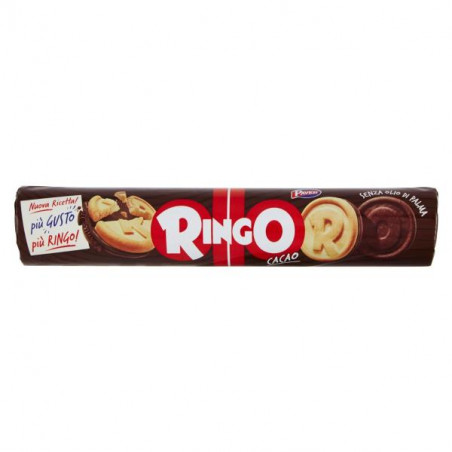 Pavesi-cocoa ringo-165g-chocolate biscuits-biscuits-breakfast
