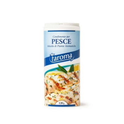 Fish seasoning (120G) - L'Aroma-fish-spices-sicily-seasoning-condiment