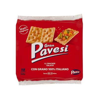 Crackers-pavesi-500g-salted crackers-saltine crackers