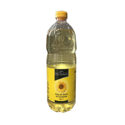1L-del borgo-sunflower oil-oil-italian oil-italian sunflower oil