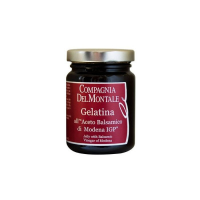 Jelly vinegar-compagnia del montale-balsamic vinegar-115g-balsamic vinegar jelly-vinegar-italian vinegar