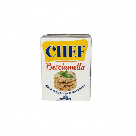 Bechamel sauce-sauce for dishes-besciamella-panna chef-white sauce