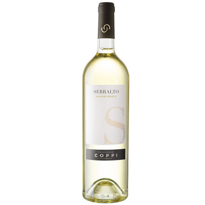 coppi-white wine-serralto malvasia bianca-2017-fruity wine-floral wine-apulia-wine for appetizer-italian wine
