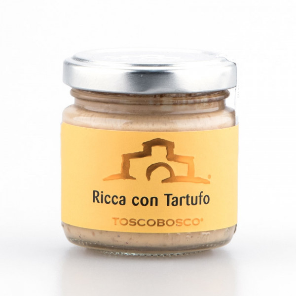 Ricca Cheese Sauce with White Truffle (90gr)